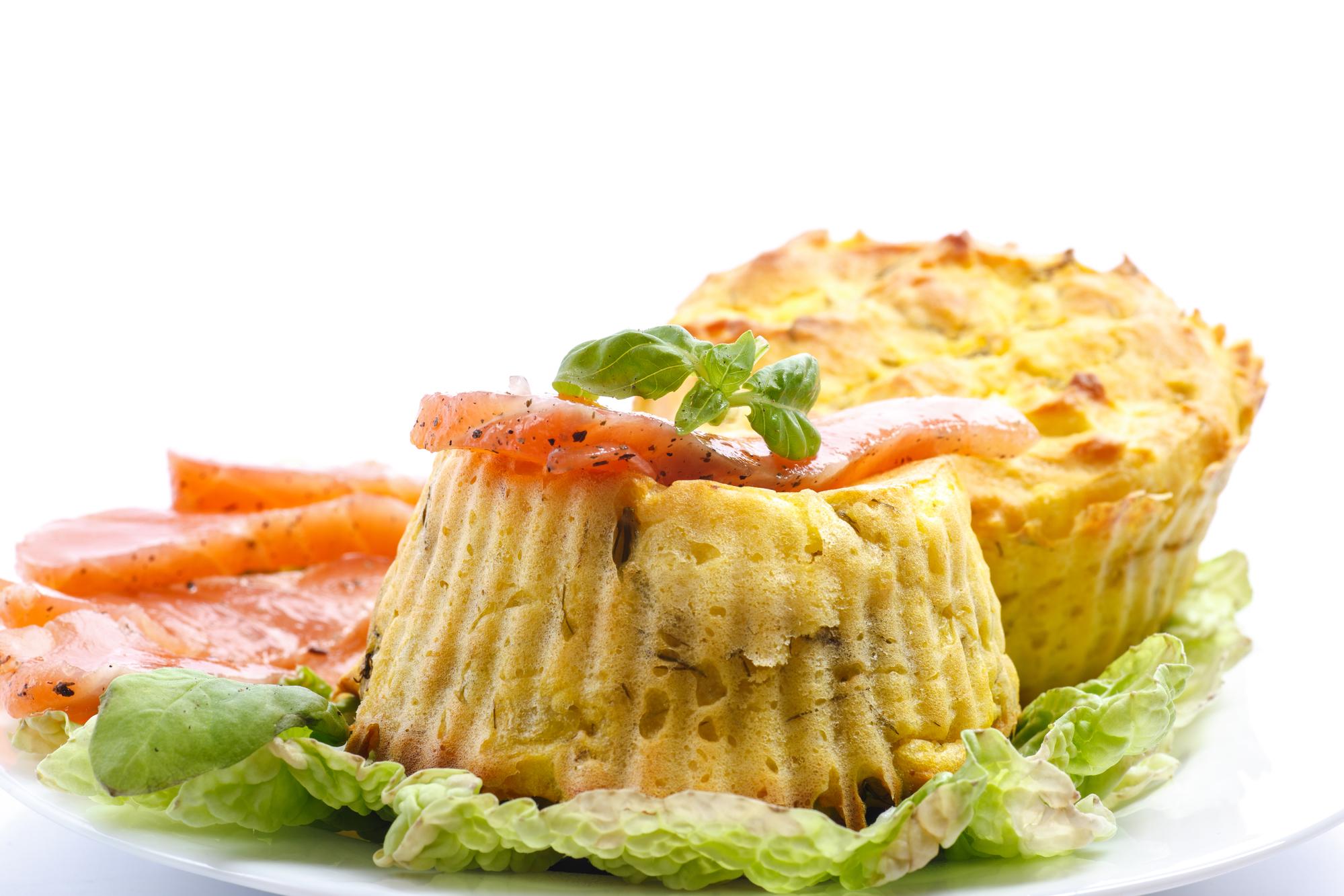 Картофельные маффины без муки