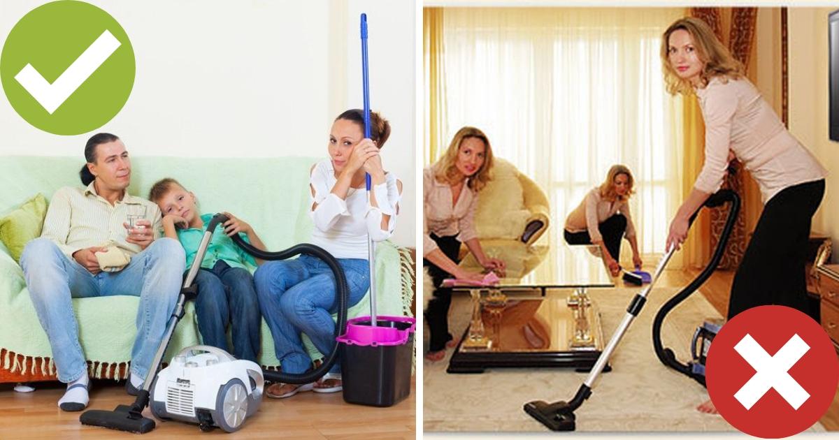 Просите конкретнее: 6 способов приучить домочадцев к порядку