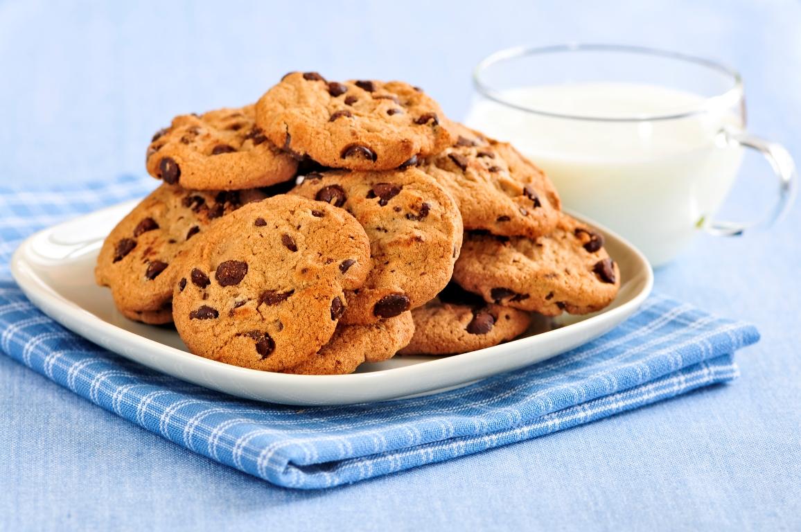 Вкуснейшее печенье с шоколадом