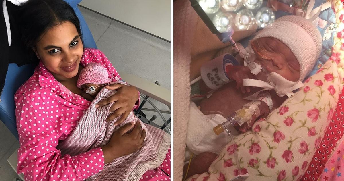 Три месяца в больнице: британка родила на сроке в 24 недели