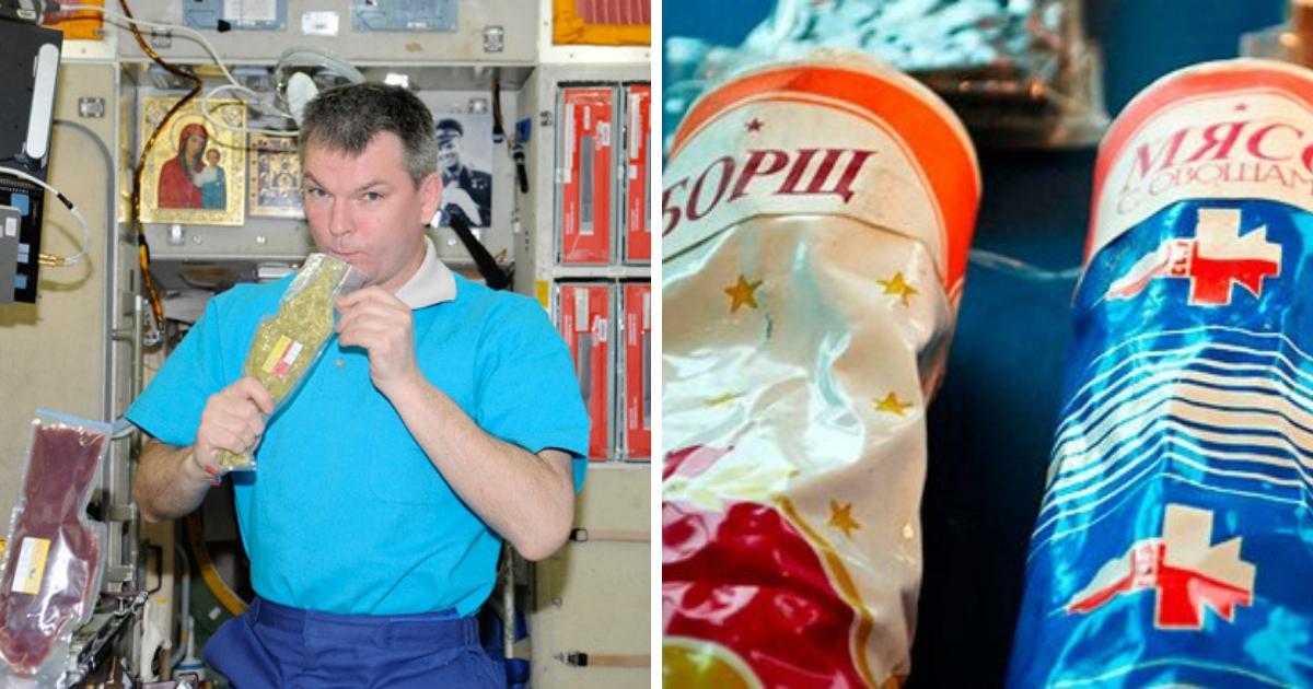 Как появилась космическая еда и что едят космонавты сегодня