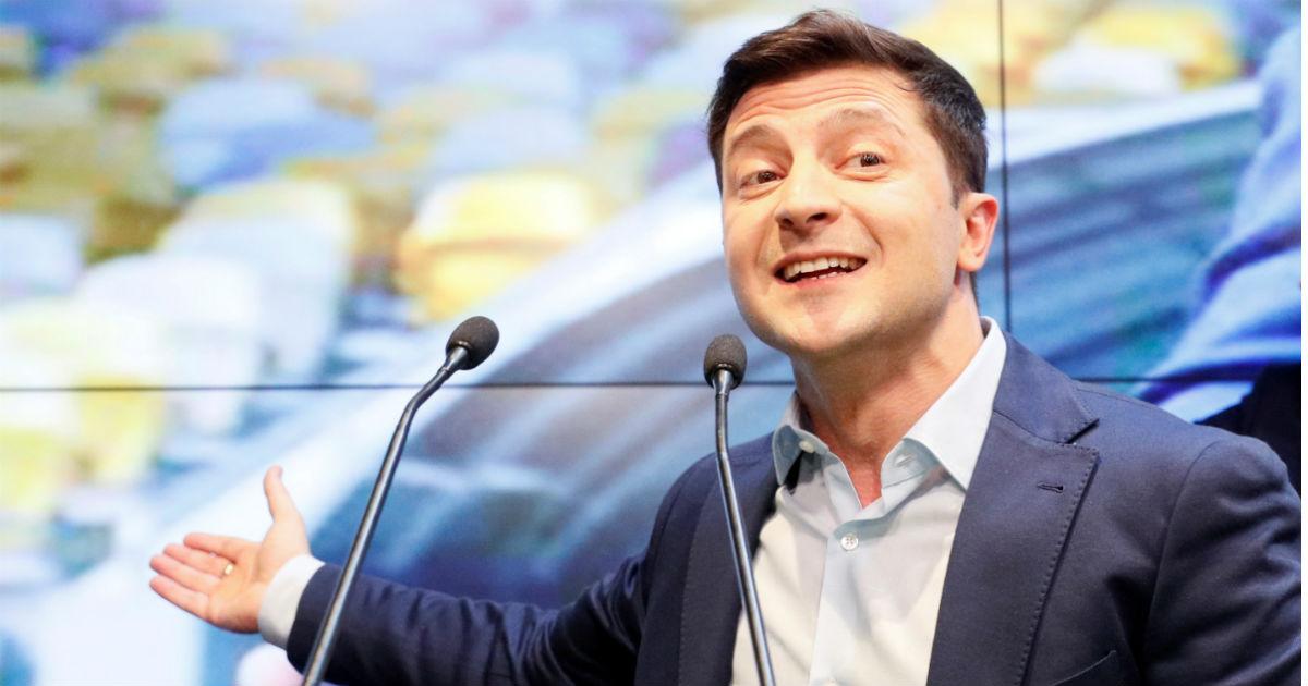 Клоун на повышении. Чего России ждать от нового президента Украины
