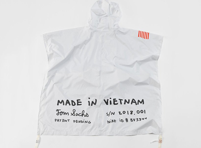 Photo of NIKE and tom sachs reveal exploding poncho as part of upcoming NIKECRAFT collection