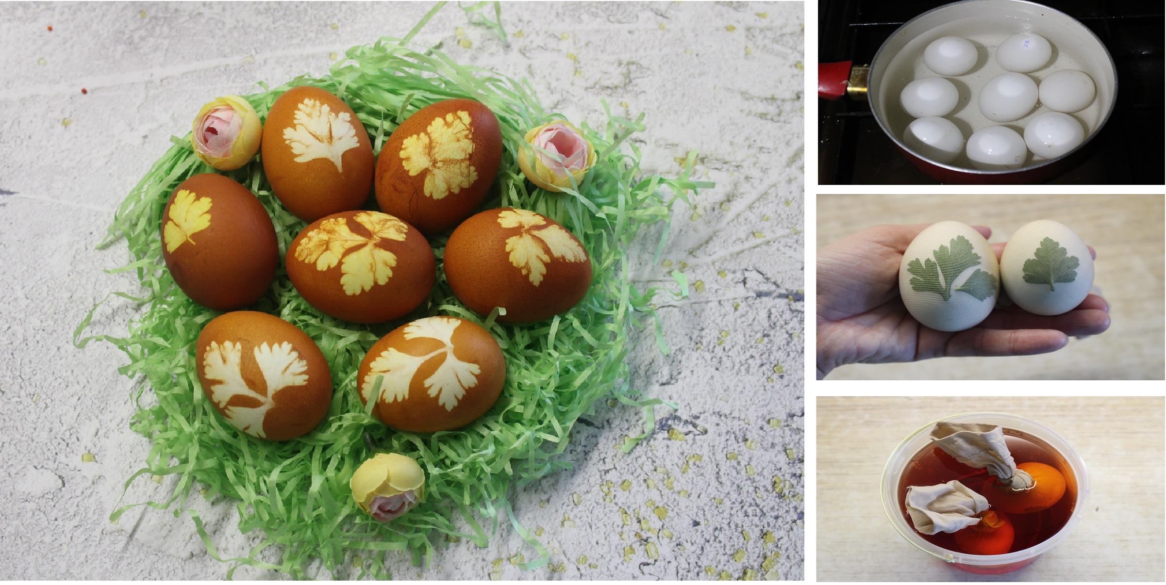 Пасхальные яйца: пошаговый фото рецепт