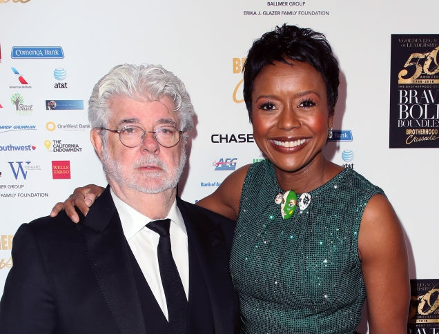 Photo of Star Power: Mellody Hobson and George Lucas Vie for Control of Ebony, Jet Photo Archives