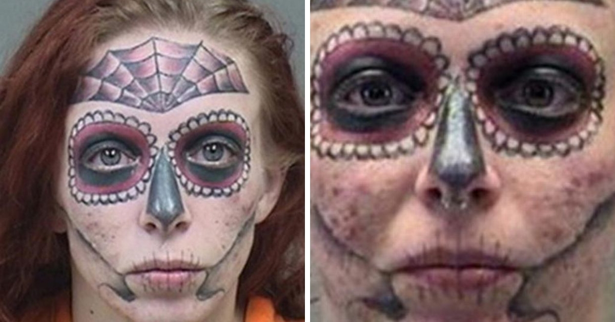 """Фото """"Преступления не для нее"""": девушка с тату была арестована три раза за шесть месяцев"""