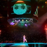 Photo of Live Review: Bad Bunny, the Inexhaustible Pop Recalibrator, Lights Up Madison Square Garden