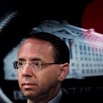 Deputy Attorney General Rod Rosenstein to Step Down in May