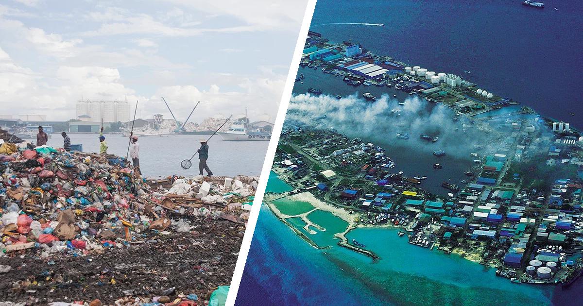 Фото Обратная сторона рая: Тилафуши - самый ужасный остров на Мальдивах