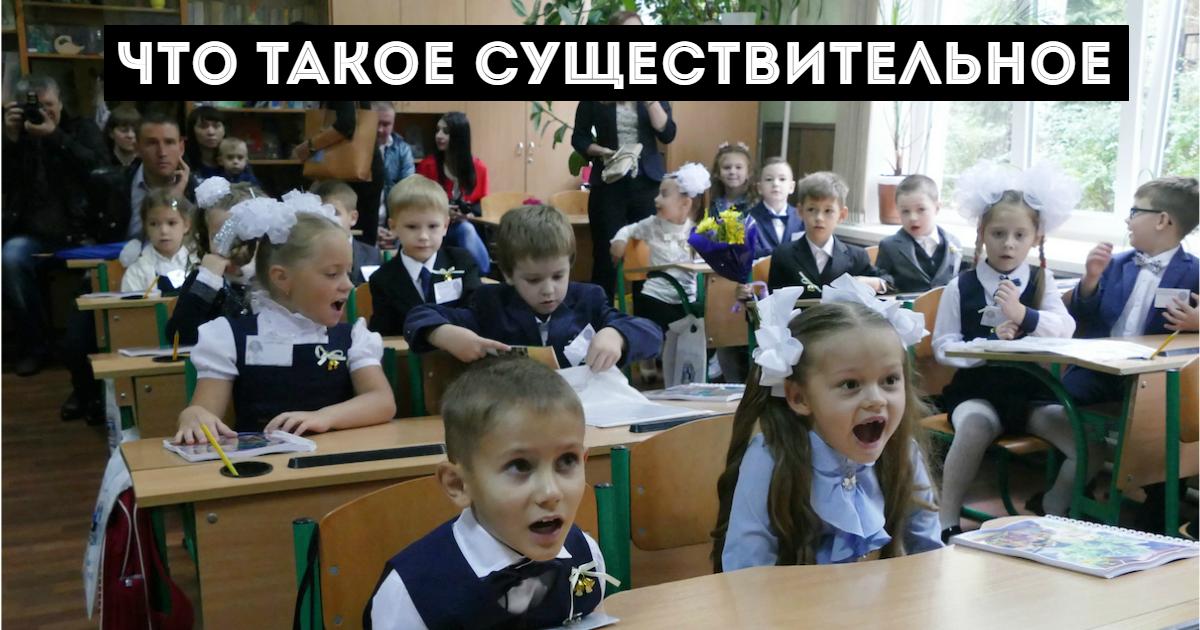 Фото Имя существительное в русском языке: классы, род, число, падежи и склонение