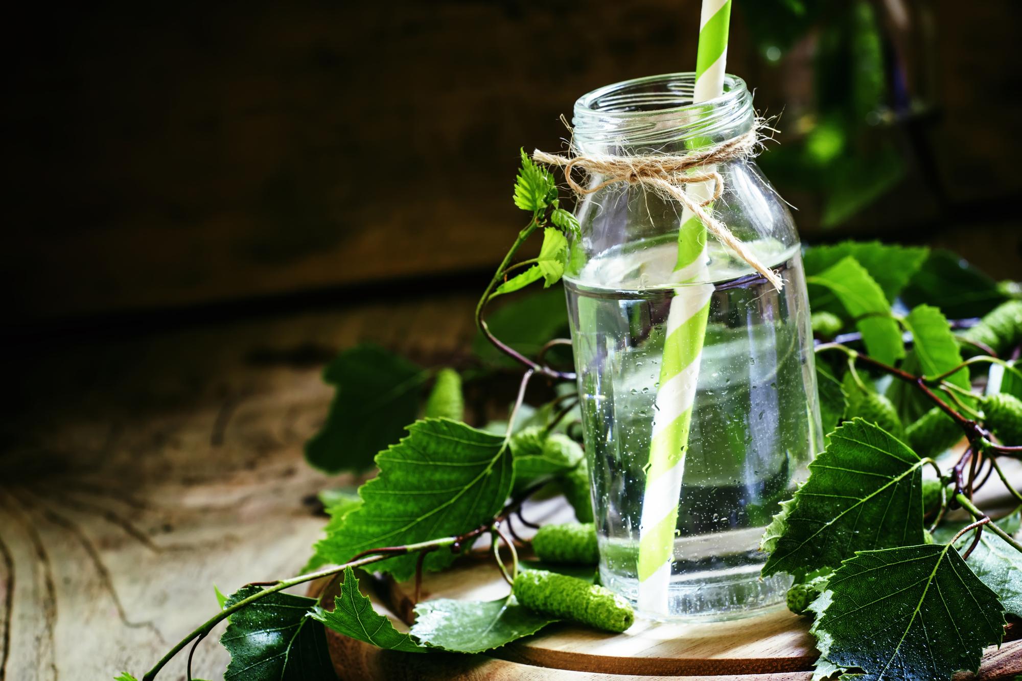 Весенний рецепт консервации березового сока