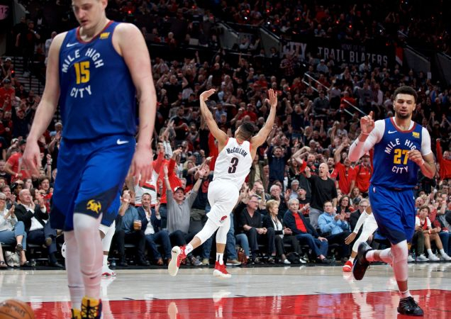 Photo of The Four-Overtime Slog Between The Nuggets And Trail Blazers Caused An NBA Y2K