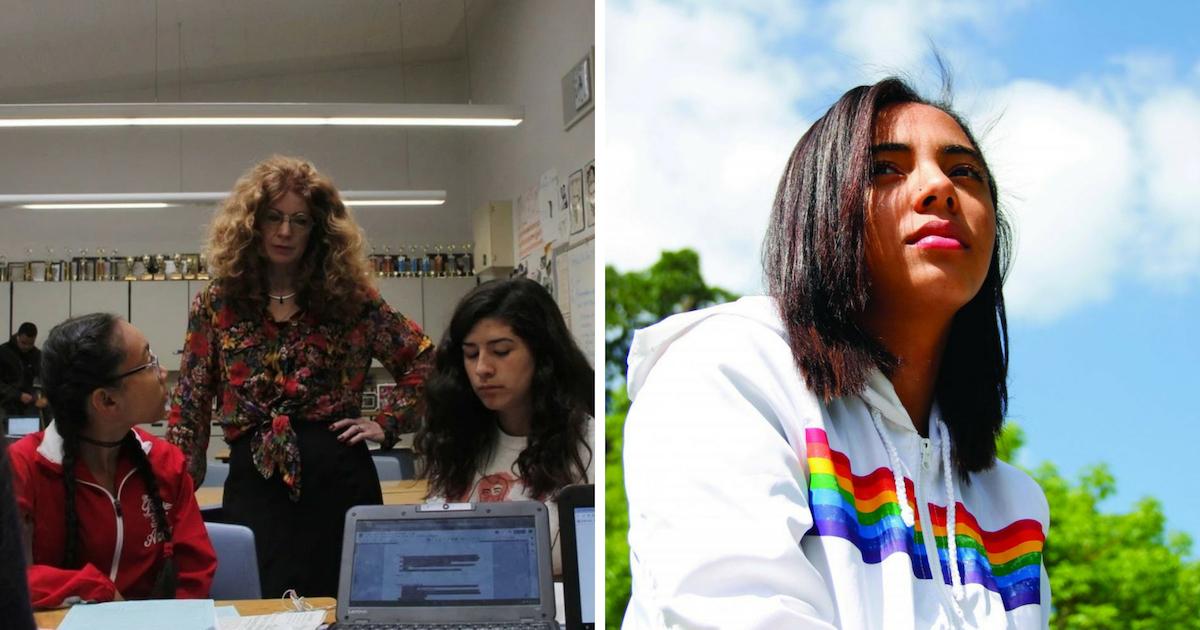Фото В школьной газете в США опубликовали историю об ученице-порноактрисе
