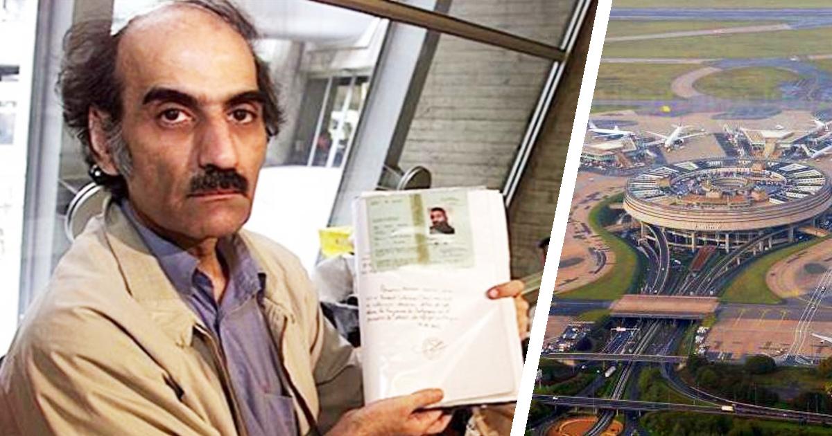 Фото Мехран Карими Нассери: история человека, прожившего в аэропорту 18 лет