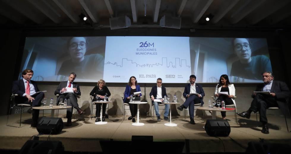 Photo of Madrid Central, vivienda o limpieza protagonizan el debate a seis de EL PAÍS y Cadena SER