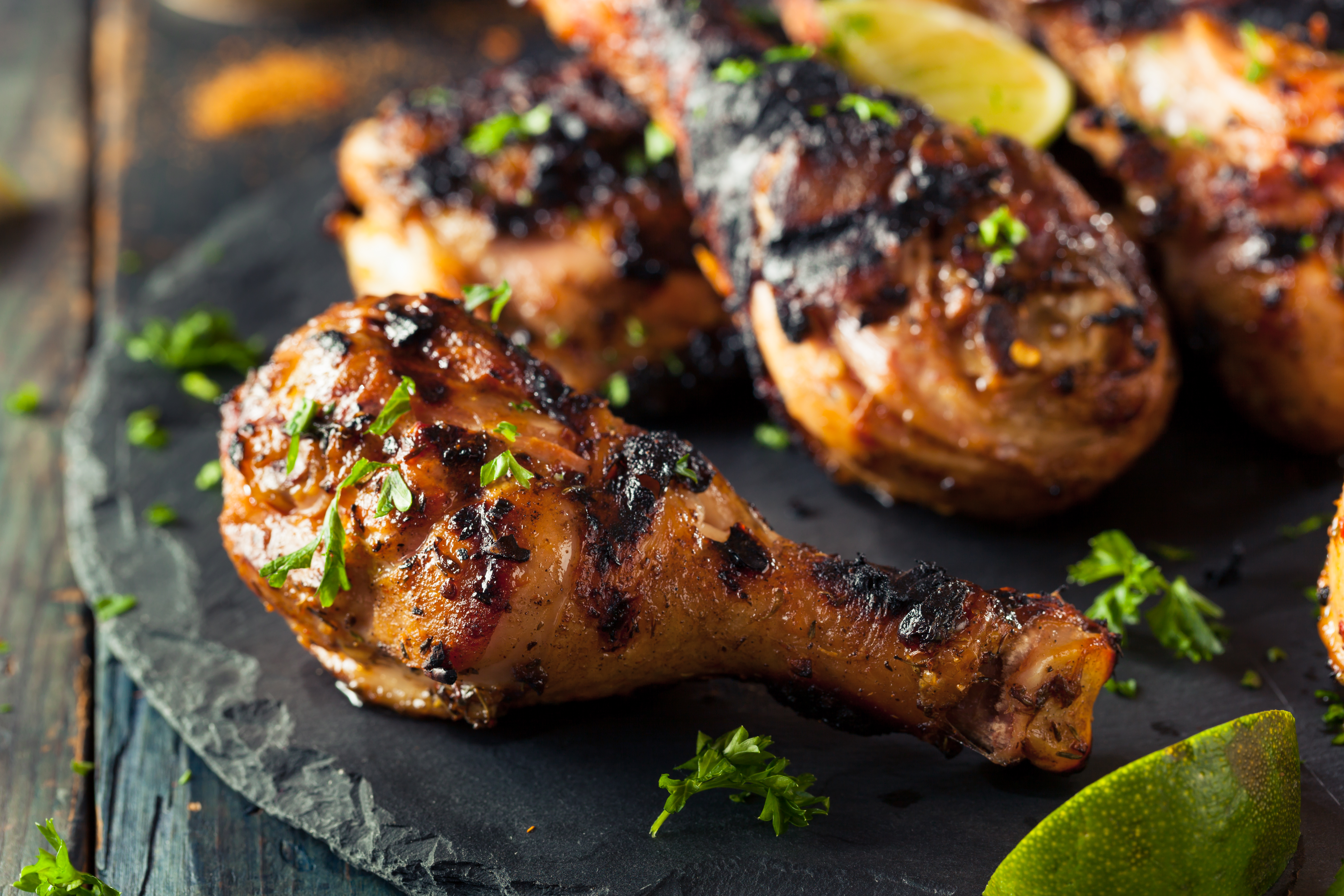 Цыплёнок по-карибски по рецепту Гордона Рамзи