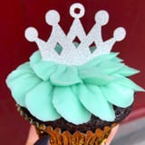 It's a Cupcake! Magnolia Bakery Celebrates Baby Sussex With a Glittery Treat Fit For Royalty