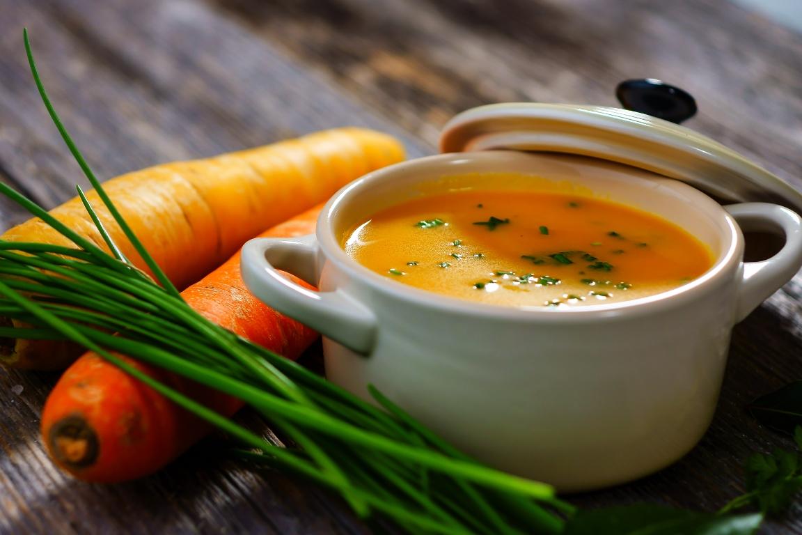 Домашний овощной суп-пюре