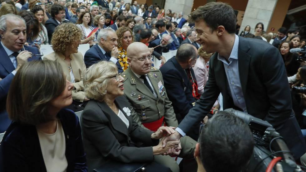 Photo of Carmena y Errejon, juntos hasta en la papeleta electoral