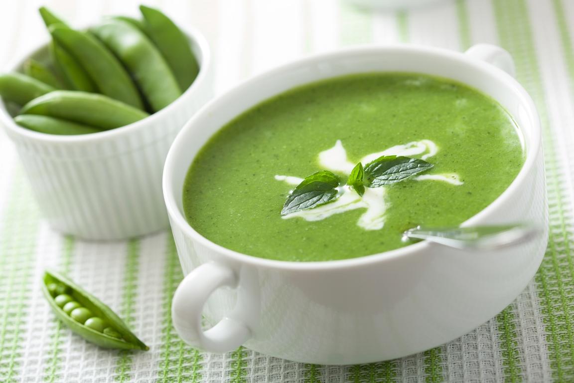 Зелёный крем-суп