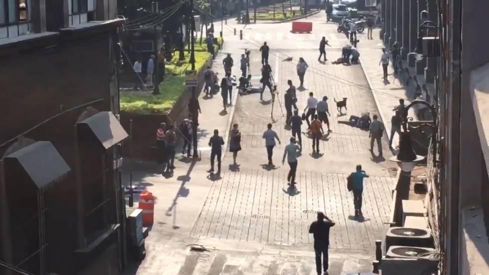 Photo of Un tiroteo en el centro de Cuernavaca deja al menos un muerto