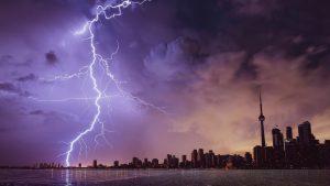 Woman Records Rare, Dangerous 'Positive Lightning' Strike on Video