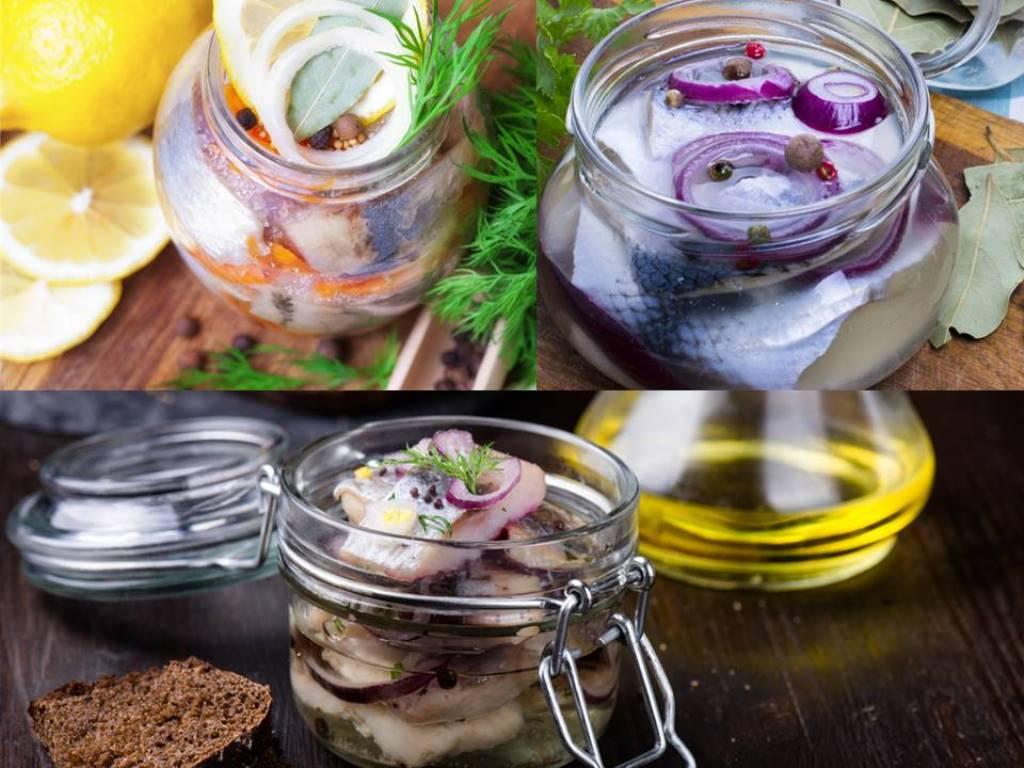 3 удачных рецепта приготовления домашней солёной селёдки