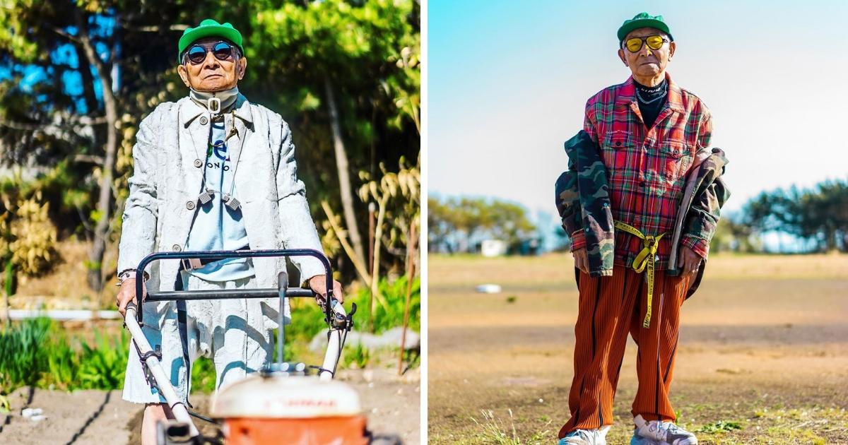 Дедушка-хипстер: 84-летний японец завоевал Instagram