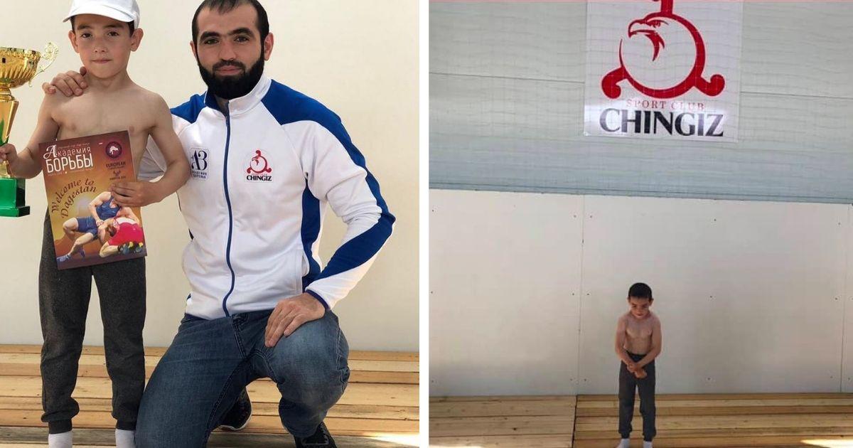 Мальчик из Ингушетии отжался 1555 раз и планирует побить мировой рекорд