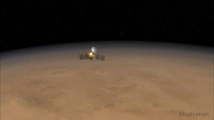 Photo of NASA's MRO completed 60,000 orbits around the Red Planet