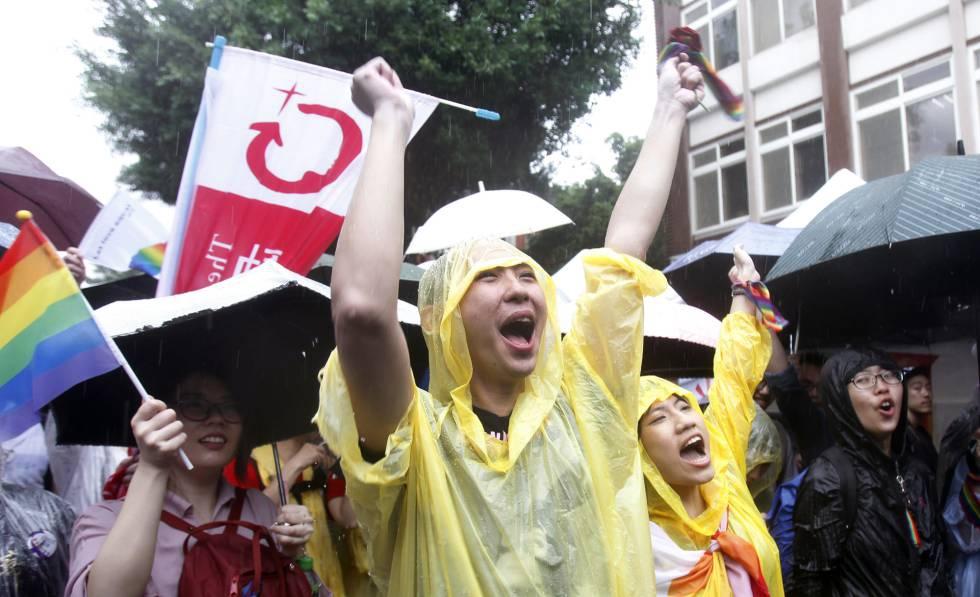 Photo of Taiwán se convierte en el primer territorio de Asia en legalizar el matrimonio homosexual