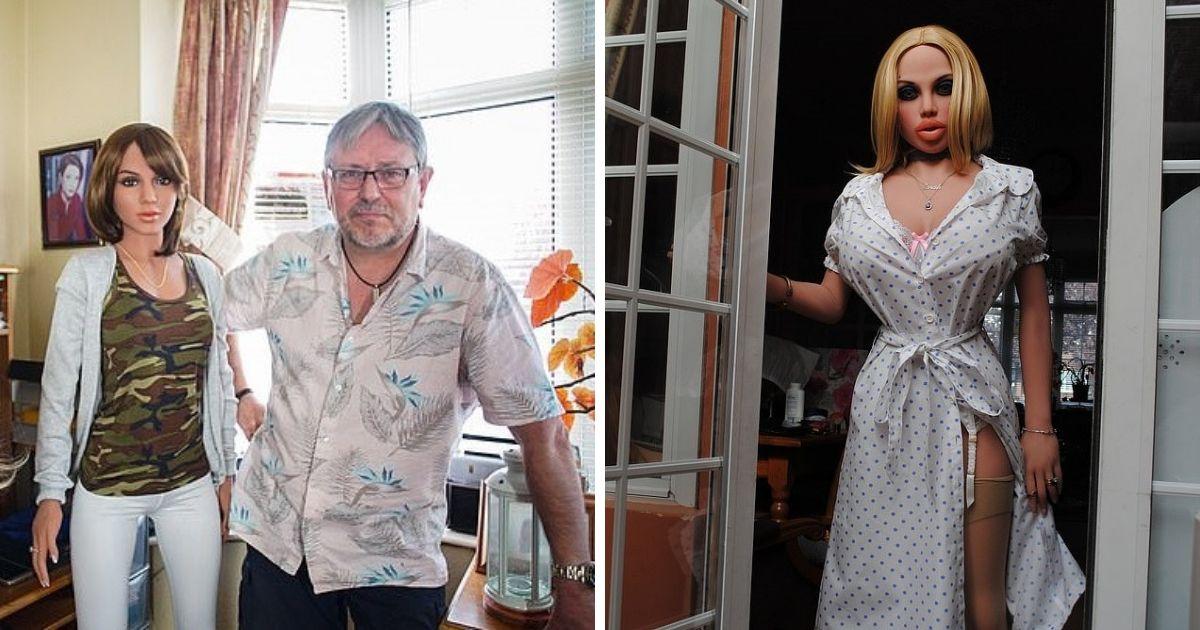 Седина в бороду: бывший медбрат увлекается фотографией кукол для взрослых