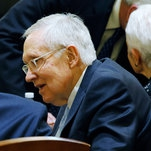 Harry Reid Remembers One Impeachment and Ponders a Second