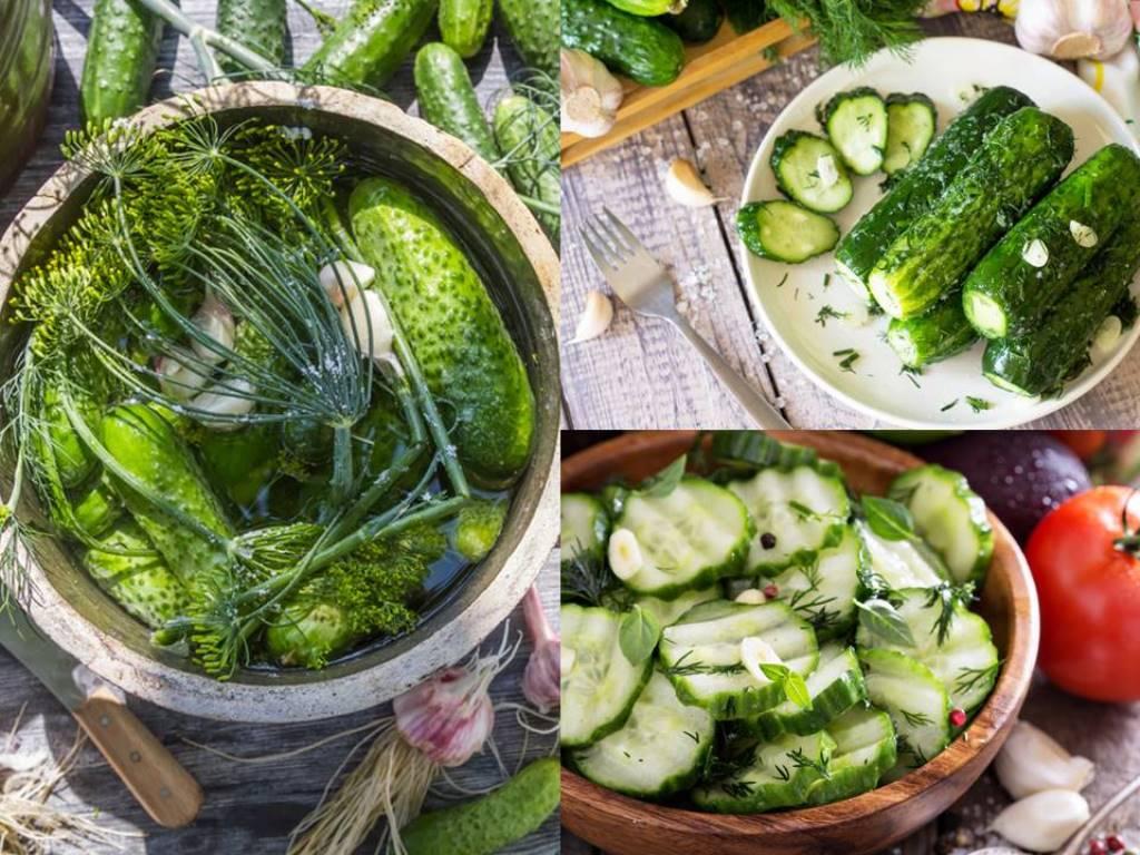 3 удачных рецепта малосольных огурцов