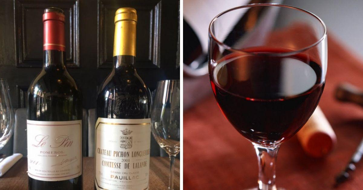 Фото В Британии посетителю по ошибке подали вино за 4,5 тыс. фунтов