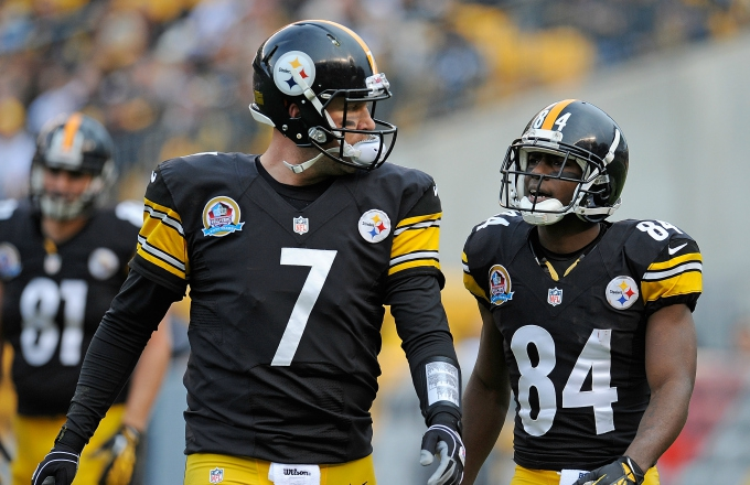 Photo of Ben Roethlisberger Apologizes to Antonio Brown for Denver Comments: 'I Genuinely Feel Bad About That'