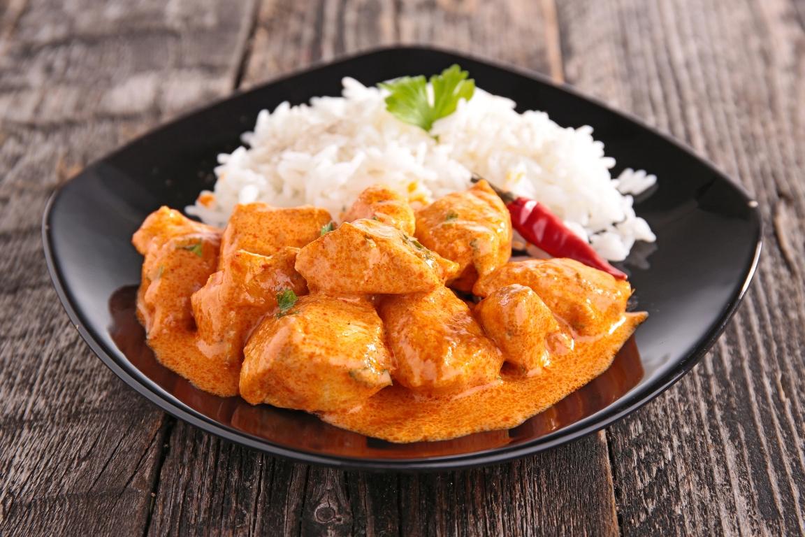 Аппетитная курица в пряном соусе