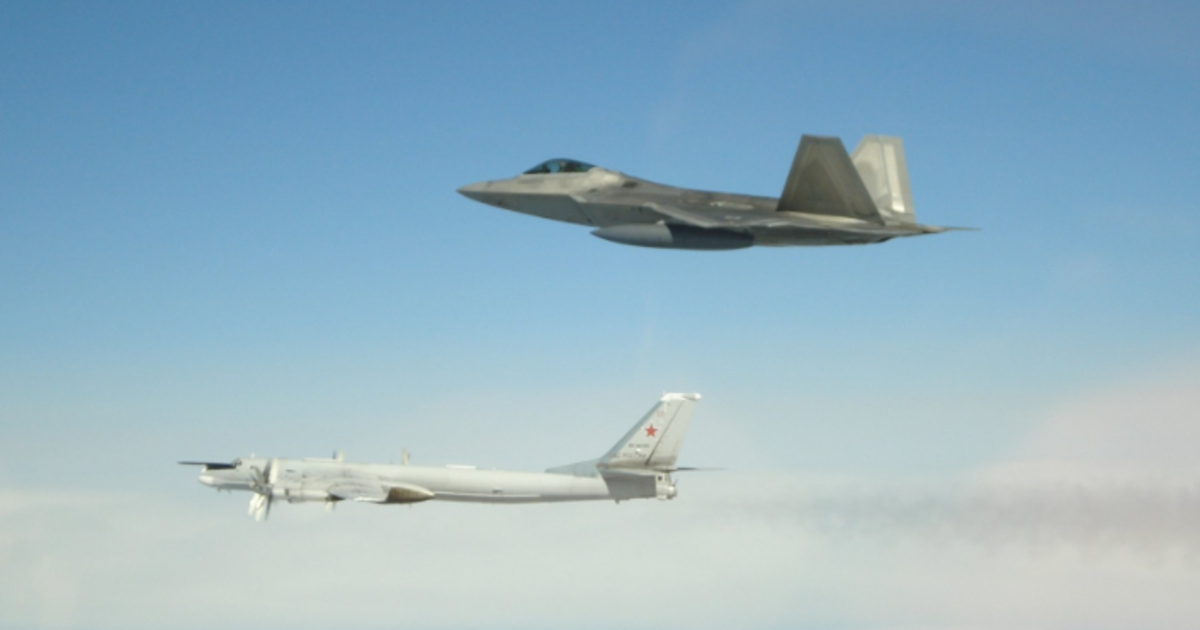 Photo of U.S. intercepts 4 Russian bombers and 2 fighter jets
