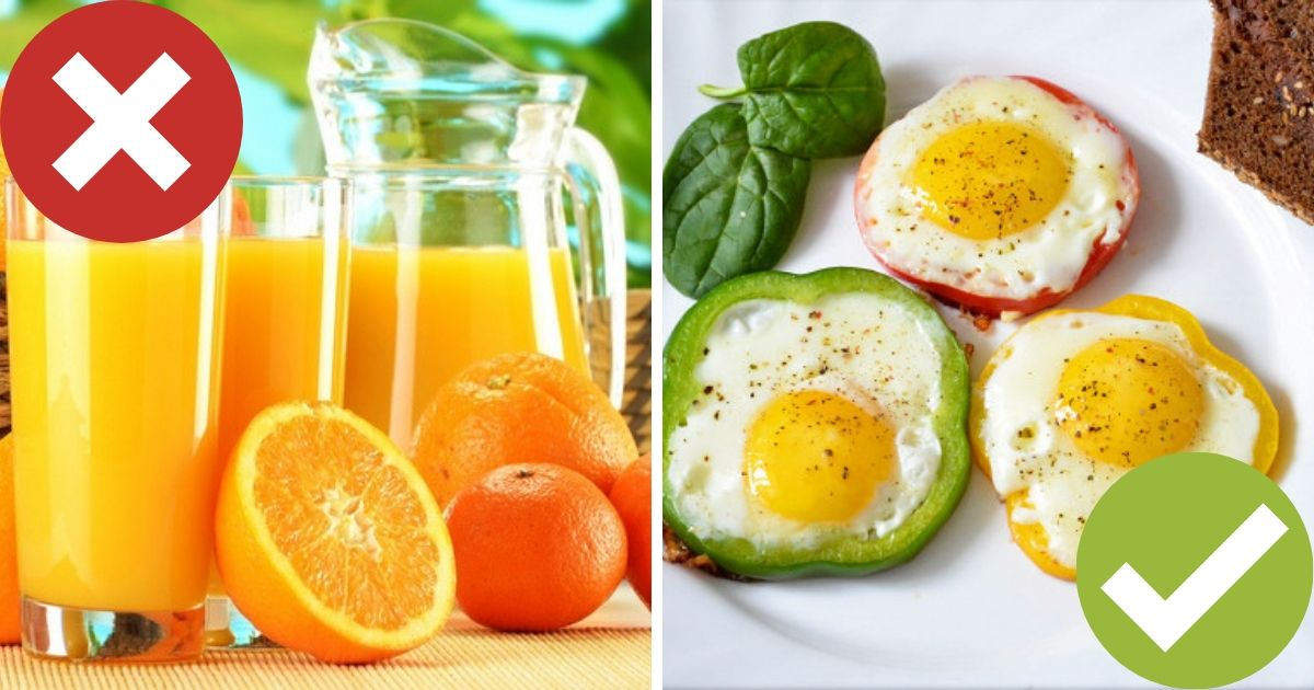 Цитрусовый сок и жвачка: какие продукты нельзя употреблять натощак