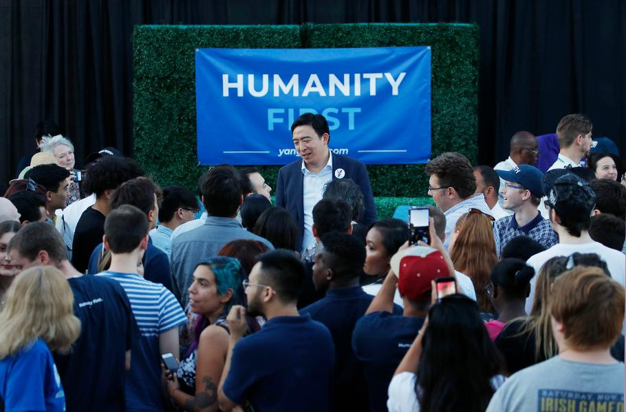Photo of What If Presidential Hopeful Andrew Yang Is Right?