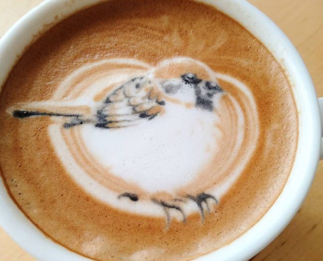 Photo of Japanese Latte Artist Creates Beautiful And Colourful Depictions Of Various Bird Species