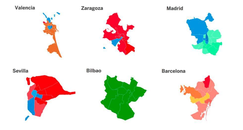 Photo of Los resultados de las elecciones municipales, distrito a distrito