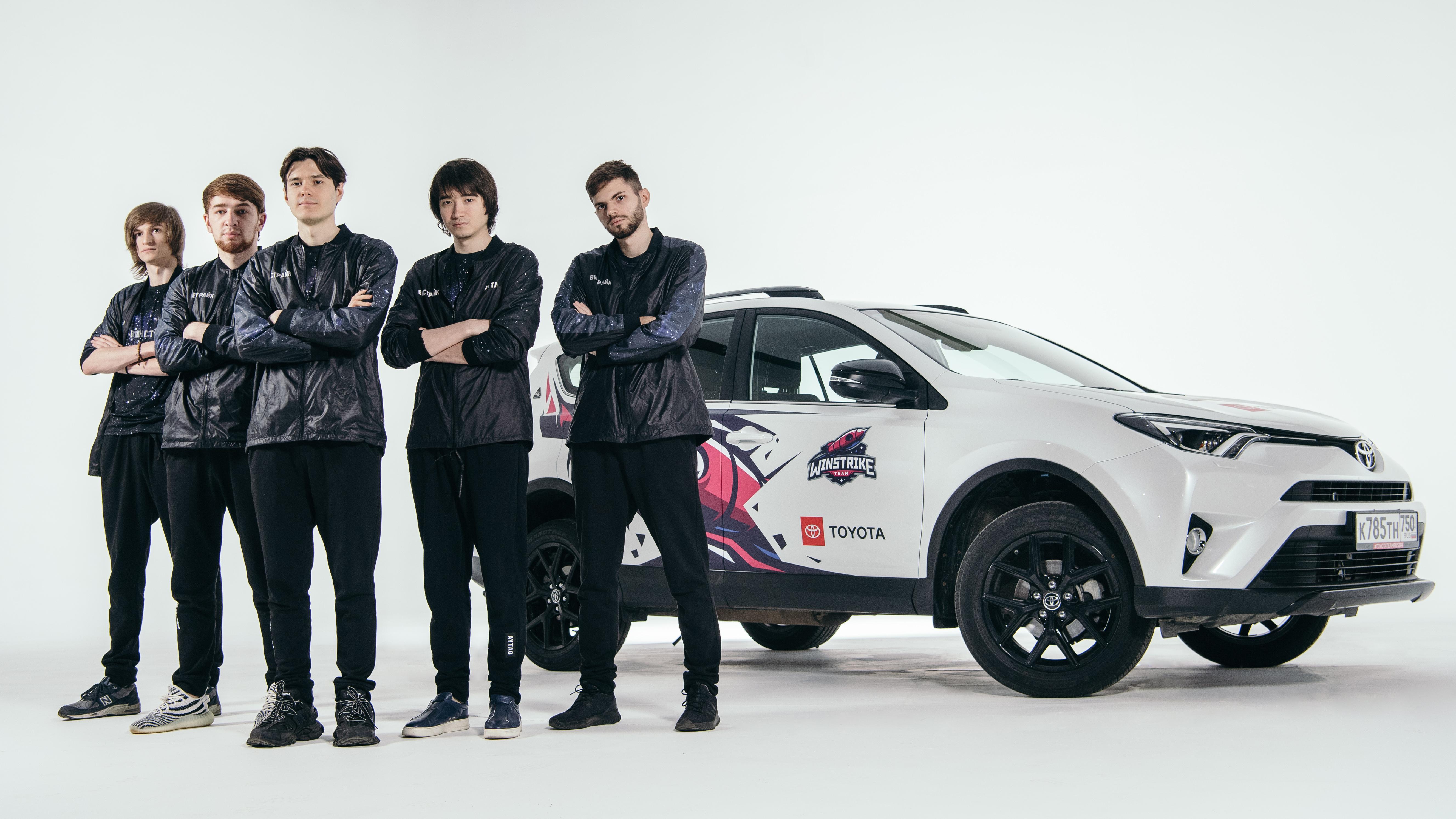 Toyota – первый в России автобренд, ставший партнером киберспортивной команды