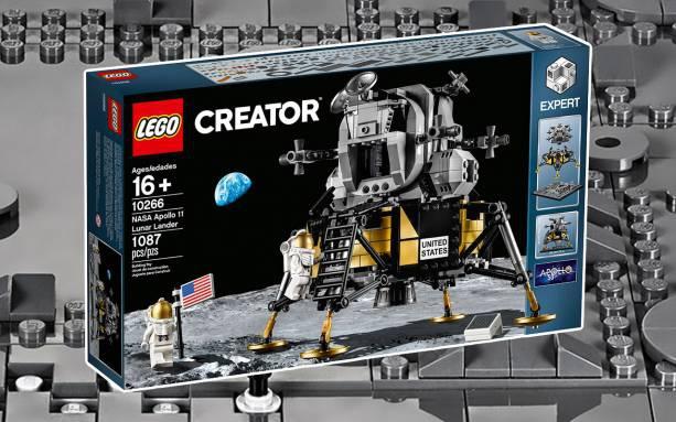 Photo of LEGO Apollo 11 Lunar Lander joins 7 new sets depicting NASA's future