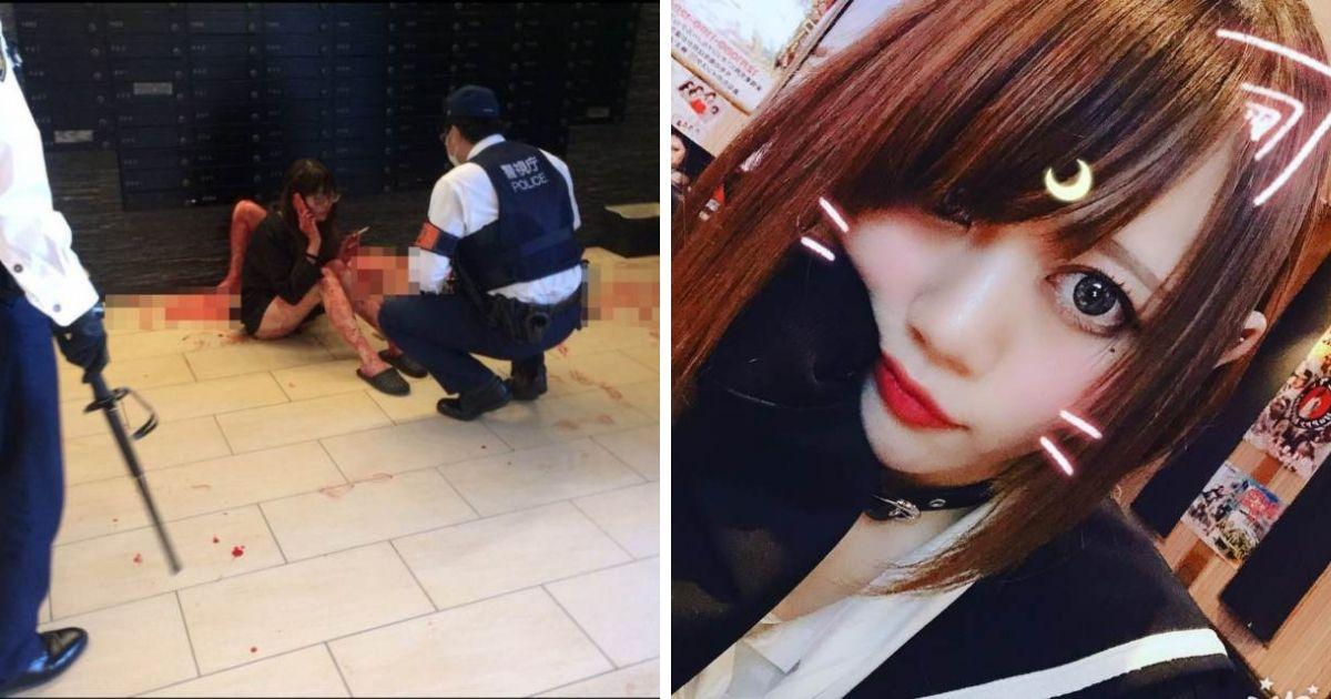 """21-летняя японка-модель пыталась погубить парня """"из-за большой любви"""""""