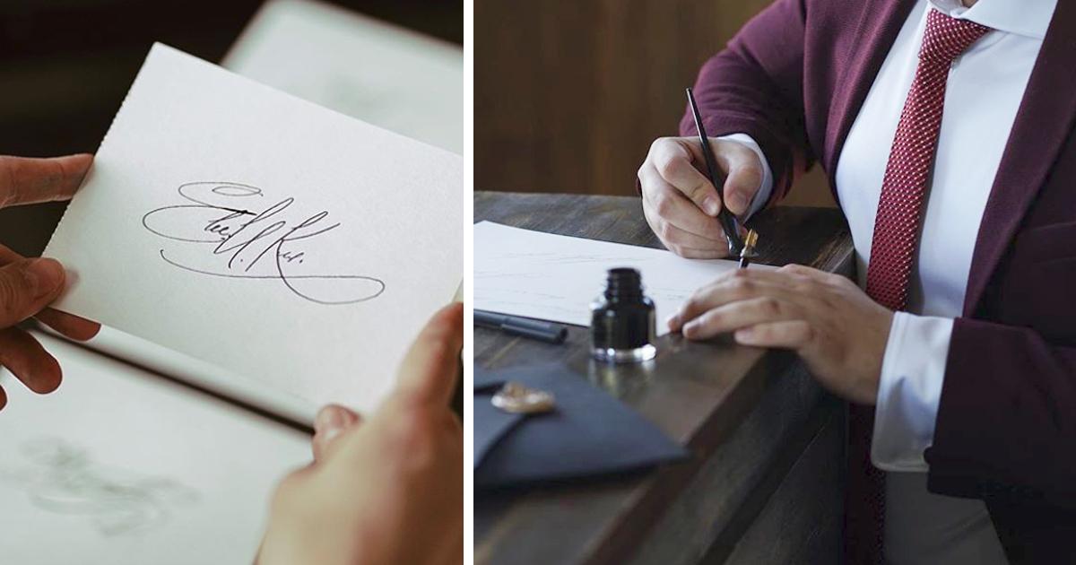 Необычный бизнес: парень зарабатывает, придумывая подписи бизнесменам