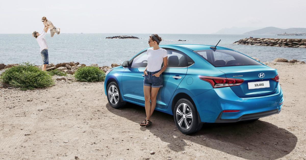 Hyundai представила лимитированную серию Solaris Super Series