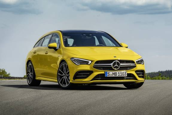 Photo of Mercedes-AMG CLA 35 4Matic Shooting Brake has 306hp