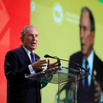Michael Bloomberg Promises $500 Million to Help End Coal