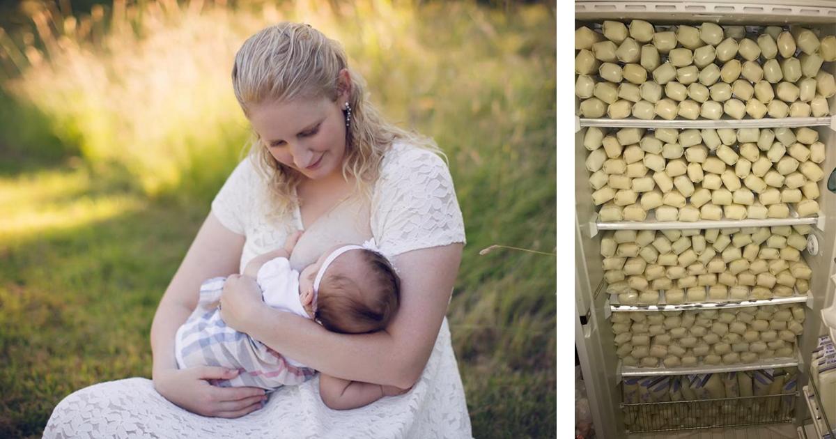 Фото Синдром гиперлактации: американка пожертвовала 2,5 тонны грудного молока